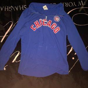 PINK Chicago Cubs Quarter Zip